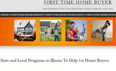 If you're looking to buy your first home in Illinois, we have all the contact information for every program available to IL residents. There's programs at the federal, state and local level available to help with the down payment and closing costs and other expenses of buying your first residence. Simply click the image above to visit the website.