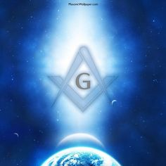 Blue Space Square & Compass