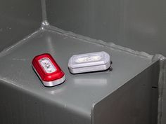 From Shoes to Bags, This Is the Season�s Coolest Commuter Bike Gear | Blackburn Design 100 Front and Central 20 Rear lights Blackburn�s Central 100-lumen front and 20-lumen rear lights ($65 for the pair) stand out because in addition to illuminating what's in front of you, they�re also designed to emit lots of light sideways.   Jakob Schiller/WIRED  | WIRED.com