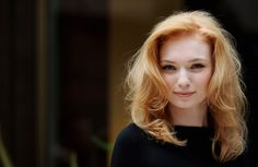 Eleanor Tomlinson -- she's even prettier in real life! @megwilkes