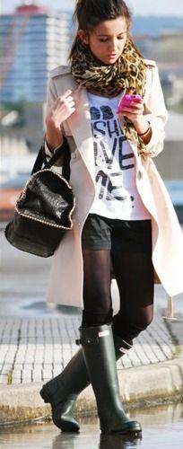 A moda das galochas voltou com tudo e está cada vez mais popular entre as  mulheres cfffb4a1f7