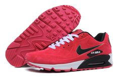 07690ddeaf75c Nike Air Max 90 Womens Shoes Fur 2014 Releases Red Nike Air Max For Women,