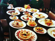 Pancakes your  choice.