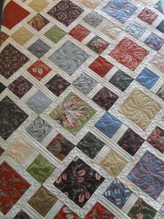 Moda | Pieced by Judy McNaughton Quilted by Jessica's Quilti… | Flickr - Photo Sharing!