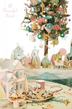 merry christmas - Pastel Christmas Decorations