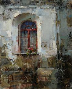 Layers by Tibor Nagy Oil ~ 14 x 11
