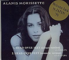 For Sale Alanis Morissette Head Over Feet Japan Promo Cd Single Cd  See This And  Other Rare Vintage Vinyl Records Singles
