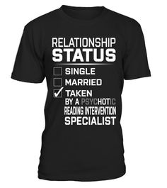 "# Reading Intervention Specialist .    Relationship Status. Taken by a PsycHOTic Reading Intervention Specialist Job Title ShirtsSpecial Offer, not available anywhere else!Available in a variety of styles and colorsBuy yours now before it is too late! Secured payment via Visa / Mastercard / Amex / PayPal / iDeal How to place an order  Choose the model from the drop-down menu Click on ""Buy it now"" Choose the size and the quantity Add your delivery address and bank details And that's it!"