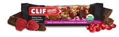Clif Organic Trail Mix bars are gluten-free, low-glycemic, and certified organic, so you can ensure a healthy snack without the sugar crash.
