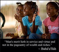 Baha'i quotation