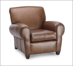 Manhattan Leather Club Chair: http://www.potterybarn.com/products/manhattan-leather-club-chair/