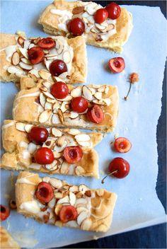 Cherry Almond Danish Puffs