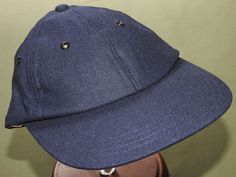 US Navy USMC Marine WW2 EASTMAN GUADALCANAL PILOT BLUE WOOL FLIGHT BALL CAP  Hat  fashion 9d68f1ad846f