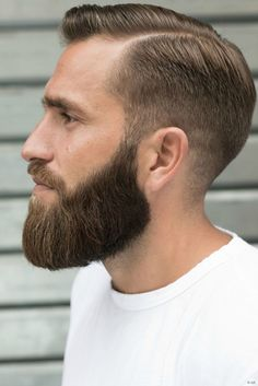 Cool Hairstyles For Boys, Boy Hairstyles, Haircuts For Men, Beard Styles For Men, Hair And Beard Styles, Hair Styles, Perfect Beard, Beard Love, Pelo Popular