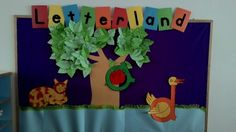 Letterland Characters Bullentin Boards, Creative Curriculum, School Bulletin Boards, Children Activities, Class Decoration, Classroom Displays, Anchor Charts, Board Ideas, Phonics