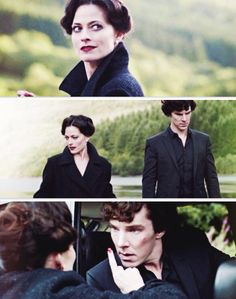 Sherlock and Irene Adler Sherlock Irene Adler, Sherlock Holmes Bbc, Robin Hood Bbc, Lara Pulver, Una Stubbs, My Love From Another Star, Sherlock Season, Louise Brealey, Rupert Graves