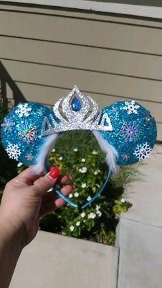Disney Diy, Diy Disney Ears, Disney Mickey Ears, Cute Disney, Diy Mickey Mouse Ears, Frozen Headband, Mickey Mouse Ears Headband, Disney Headbands, Ear Headbands