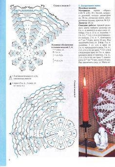 "Photo from album ""Валя-Валентина on Yandex. Motif Mandala Crochet, Crochet Doily Diagram, Crochet Circles, Crochet Doily Patterns, Thread Crochet, Love Crochet, Crochet Doilies, Dream Catcher Patterns, Doily Dream Catchers"