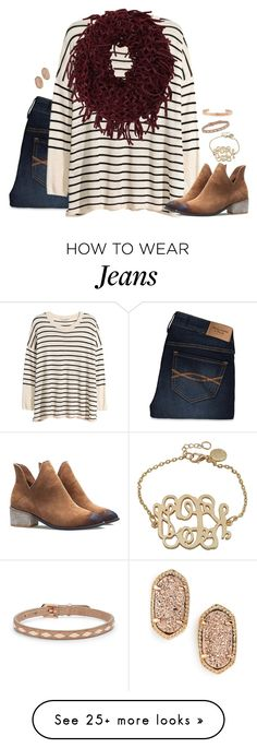 """""""I'd agree with you but then we would both be wrong"""" by kaley-ii on Polyvore featuring Abercrombie & Fitch, H&M, 2b bebe, FOSSIL, Coordinates Collection and Kendra Scott"""