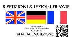 Lezioni private di lingue da LeomillaTranslation in piazza Ulivelli a Castelfiorentino