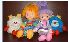 I think I had one of these I know I was pretty young when I was into her my 3rd or 4th birthday was rainbow brite