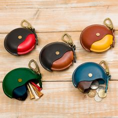 leather coin vallet