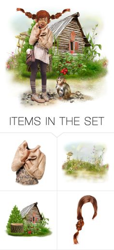 """""""Pippi"""" by riri-thatsme ❤ liked on Polyvore featuring art"""