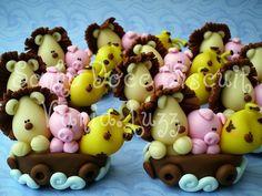 Apliques arca de noé by Sonho Doce Biscuit *Vania.Luzz*, via Flickr