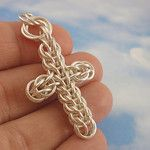 Chainmaille Cross Tutorial - an album on Flickr