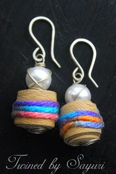We are all Ears - Twined earrings
