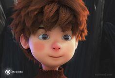 3d cartoon character
