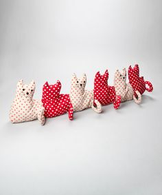 Cat draught excluder from Zulily