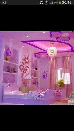 M s de 1000 ideas sobre decoraci n de dormitorio de ni as for Cuartos de ninas color violeta