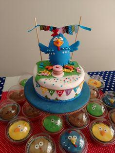 La torta gallina pintadita