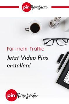 Video Pins erhalten auf Pinterest mehr Aufmerksamkeit, darum zahlt es sich aus Pins mit video Inhalten zu verwenden. Mehr dazu im Blog. Best Practice, Im Online, Marketing, Videos, Online Business, Entrepreneurship, Female, Easy, Blogging