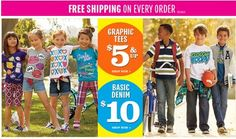 Free Shipping on your entire order from Children's Place! - http://www.pinchingyourpennies.com/free-shipping-entire-order-childrens-place/ #Bactoschool, #Freeshipping, #Pinchingyourpennies