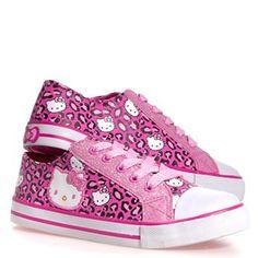 Hello Kitty sneakers designed by Heather Lee Allen. To view more of my work, please go to: www.behance.net/HeatherLeeAllen