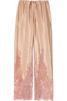 If I owned these, I would never take them off -- silk jammie pants