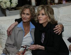 Jane Fonda, 75, and Lauren Hutton, 70, prove age is just a number