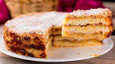 Mai bun decât un tort și cu mult mai ușor de preparat - chec cu mere! - savuros.info Romanian Desserts, Americas Test Kitchen, Apple Pie, Vanilla Cake, Cheesecake, Sweets, Food, Tv, Sweet Pastries
