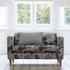 """Asplin"" on upholstery. ""Haldon"" on cushion.   Elveden collection by Villa Nova."
