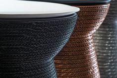 Dettaglio di Cork con cuscino, in versione black, bronze e silver | design robertopamio+partners www.staygreen.it