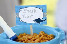 Branson's Shark Party http://www.etsy.com/people/juliegazaway