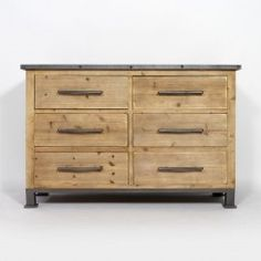 Vert Sapin 40 x 83,5 x 88 cm Bois Steens Commode