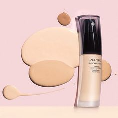 Shiseido Synchro Skin Lasting Liquid Foundation 2016 - Beauty Trends and Latest Makeup Collections Makeup Ads, Skin Makeup, Makeup Tools, No Foundation Makeup, Liquid Foundation, Makeup Trends, Beauty Trends, Cosmetics News, Products