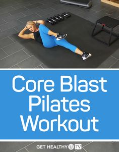 This Pilates-inspired workout will sculpt your core and give you defined, sexy abs and increased core body strength. As a Pilates-trained instructor, Chris will guide you through each methodical move, designed to target specific muscles in your core.
