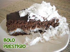 Bolo prestígio #receita #vegan #veganrecipes #cakes