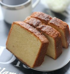 Vaniljeformkake - Passion For baking Banana Bread, Food And Drink, Baking, Desserts, Passion, Cakes, Recipes, Tailgate Desserts, Deserts