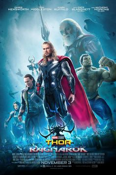 Thor is back to Asgard, with new adventures, along with our green hero, Hulk. And so we are here with amazing printable Thor Ragnarok Poster collection. Thor Ragnarok Full Movie, Thor Ragnarok 2017, Hero Marvel, Marvel Dc, English Movies, Movies To Watch Free, Full Movies Download, Marvel Movies, Captain America Wallpaper