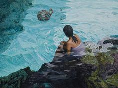 New Zealand born artist Mark Cross is considered one of the South Pacific's leading contemporary realist painters. Dividing his time between studios in Auckland Claude Monet, Vincent Van Gogh, Polynesian Islands, Polynesian Art, Wolves And Women, The Beautiful South, Nz Art, South Pacific, Pacific Rim